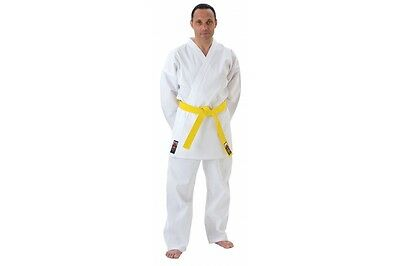 Cimac Karate GI Tournament Heavyweight 14oz Karate Suit Adult White Uniform