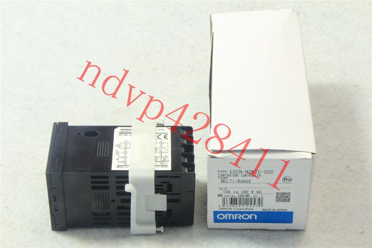 New E5CN-C2MT-500 Omron Temperature Controller100-240VAC E5CNC2MT500
