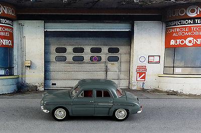 Diorama Garage contrôle technique - 1/43ème - #43-2-D-D-018 3