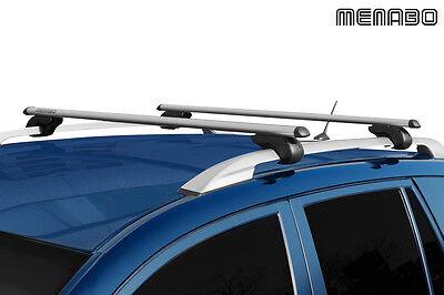 Für Skoda Fabia Kombi 01.2008-03.2010 MENABO Dachträger Brio Aluminium Neuware