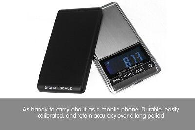 New 500g 0.01 DIGITAL POCKET SCALES JEWELLERY ELECTRONIC 10 milligram micro gm 5