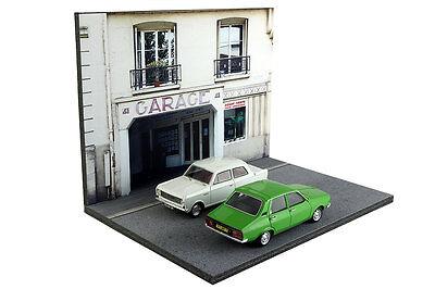 Diorama Garage parisien / Parisian garage - 1/43ème - #43-2-B-B-017 6