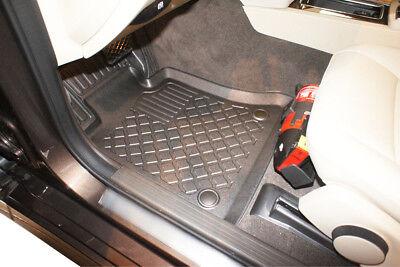 4-teilige schwarze Fußmatte MERCEDES GLK-Klasse X204 5 türig Bj. 06/2008-08/2015