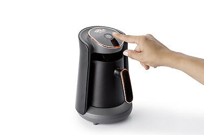 Arzum Okka Minio OK004-K Automatic Turkish/Greek Coffee Maker/Machine, Bk/Silver 7