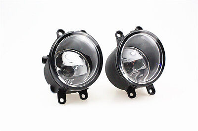 Pair of Fog Light Lamp Left Right RH LH Side Fit For Toyota Camry Yaris Lexus US 3