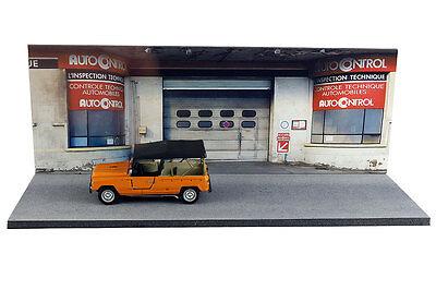 Diorama Garage contrôle technique - 1/43ème - #43-2-D-D-018 5