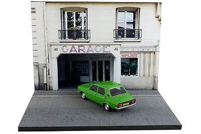 Diorama Garage parisien / Parisian garage - 1/43ème - #43-2-B-B-017 3