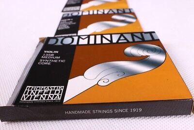 New Thomastik Dominant 135B Violin String 4/4 Full Set Free Shipping G D A E 5