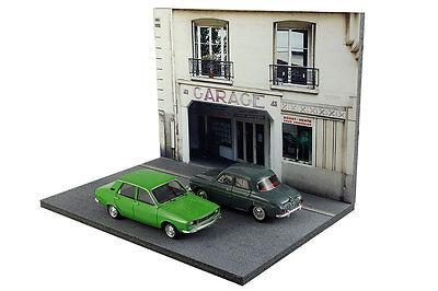 Diorama Garage parisien / Parisian garage - 1/43ème - #43-2-B-B-017 7