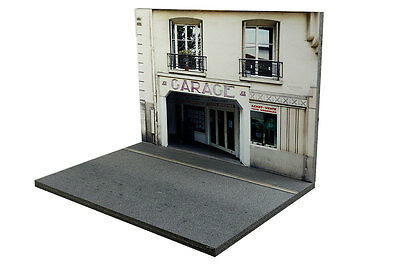 Diorama Garage parisien / Parisian garage - 1/43ème - #43-2-B-B-017 8