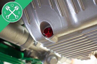 Magnetische Ölablassschraube eloxiert passend für VW Golf Jetta Polo Scirocco Up