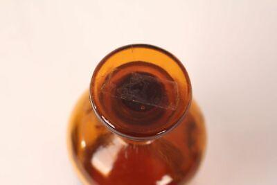 Apotheker Flasche Medizin Glas tinct. Amara antik Deckelflasche 15 cm Gefäß 9