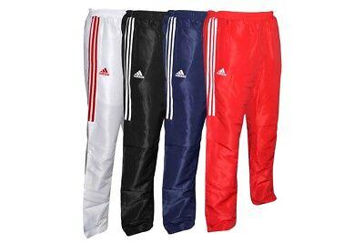 Adidas Tracksuit Bottoms Pants Martial Arts Jogging Sports Trousers Kids Mens 8