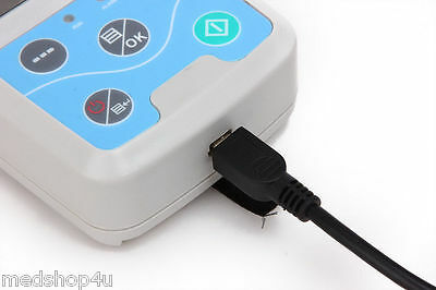24h NIBP Holter Ambulatory Blood Pressure Monitor ABPM50  USA  FDA CE 8