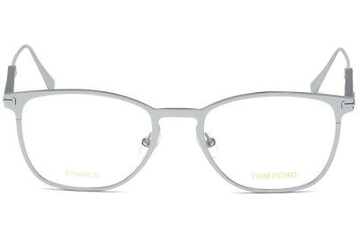 Eyeglasses Tom Ford FT 5483 018 shiny rhodium