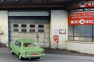 Diorama Garage contrôle technique - 1/43ème - #43-2-D-D-018 11