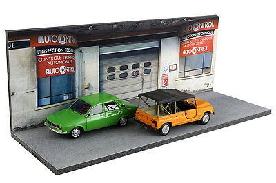 Diorama Garage contrôle technique - 1/43ème - #43-2-D-D-018 7