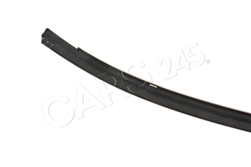Genuine Mercedes C126 Coupe Garnish moulding Windshield top right 1266703822