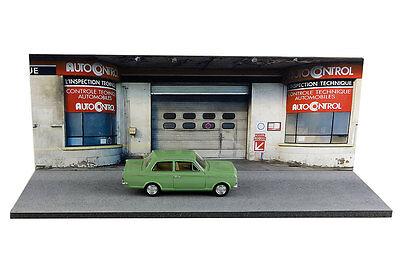 Diorama Garage contrôle technique - 1/43ème - #43-2-D-D-018 4