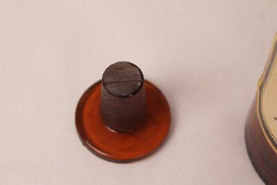 Apotheker Flasche Medizin Glas Tinct. Amara antik Deckelflasche 15 cm Gefäß 11