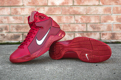 4b092002fc9 ... Nike Hyperdunk 08 Men Retro Basketball Gym Red White 820321 601  150  Double Box 2