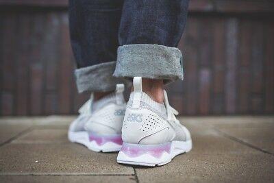 new product ca439 ae75b ASICS TIGER GEL-LYTE V Sanze Knit H8K1N-0101 White -White Men's Running  Shoes