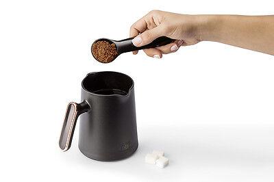 Arzum Okka Minio OK004-K Automatic Turkish/Greek Coffee Maker/Machine, Bk/Silver 4