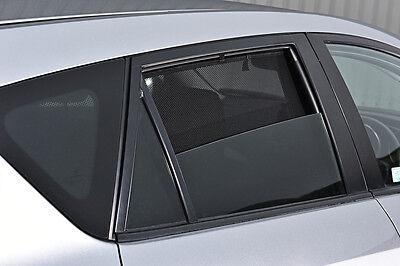 Citroen C5 4dr 2008-17 UV CAR SHADES WINDOW SUN BLINDS PRIVACY GLASS TINT BLACK