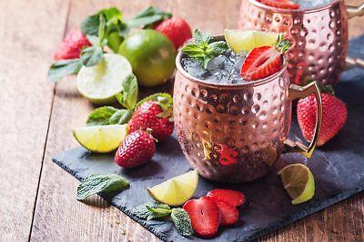 Moscow Mule Becher 500 ml Handgemachter Kupferbecher Moskau Mule Cocktailkrug 2