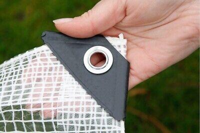 Heavy Duty Reinforced Mesh Clear Waterproof Tarpaulin Cover Mono Sheet Clear 5