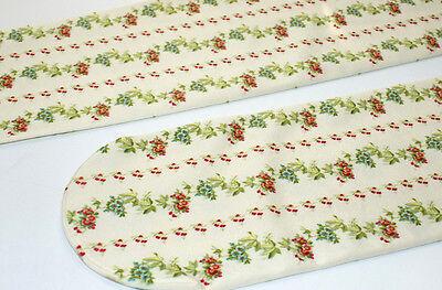 d34548b5356 ... Retro Cream Red Floral Stripe Opaque Tights Lolita Victoriana Steampunk  Harajuku 5
