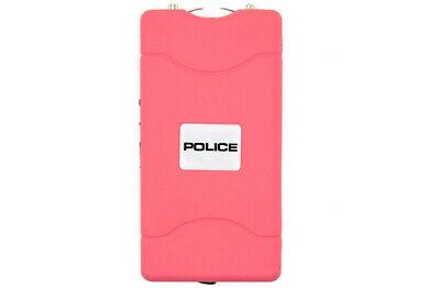 POLICE Stun Gun 800 Pink Mini Rechargeable LED Flashlight 4