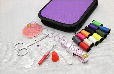 Sewing Kit Mini Travel Kit Scissor Thread Needles Beginner Sew Tools Repair New 2