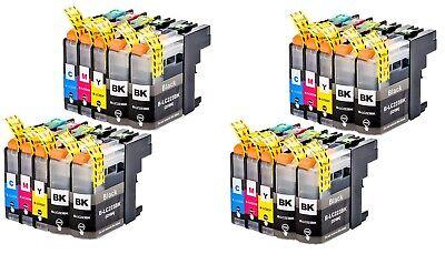 Cartuchos de Tinta Compatibles Non Oem para Brother LC223 LC-223 LC 223 XL LC221 3