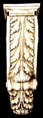 Antique Finish Shelf Acanthus leaf Wall Corbel Sconce Bracket Home Decor 7
