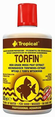 TROPICAL TORFIN NATURAL BIO-STIMULATOR PEAT EXTRACT FOR AQUARIUM FISH TANK 500ml 2