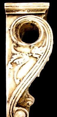 Antique Finish Shelf Acanthus leaf Wall Corbel Sconce Bracket Home Decor 9