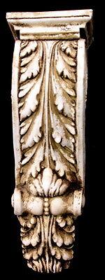 Antique Finish Shelf Acanthus leaf Wall Corbel Sconce Bracket Home Decor 3
