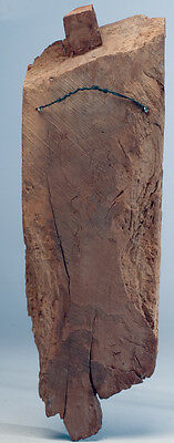 B.C.A.D. ART- 19th CENTURY MADRAS CARVED WOOD STELE