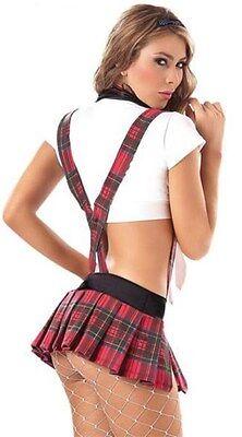 Costume scolaretta sexy donna travestimento collegiale carnevale intimo hot 2