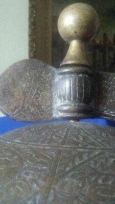 islamic globe branze h 33 inch w14 inch 11
