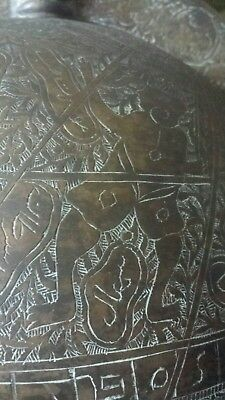 islamic globe branze h 33 inch w14 inch 9