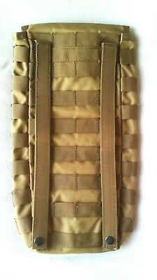 Molle Hydration Pouch Khaki + Free!! 2Lt Wide Mouth Bladder Mil Spec - Tas 3699