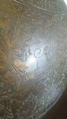 islamic globe branze h 33 inch w14 inch 12