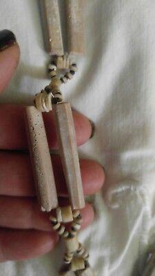 Precolumbian Bird Bone Necklace Peru Chimu Culture Approx 1200 Ad Appraised