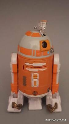 """Star Wars The Black Series EE Astromech Droid R7-D4 Clone 3.75/"""" Loose Complete"""