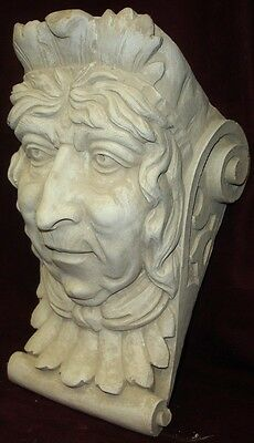 Old Lady Wall Corbel Bracket Shelf Architectural Accent Home Decor 2