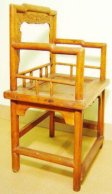 Antique Chinese Arm Chair (3062) , (Rose Chair), Circa 1800-1849 4