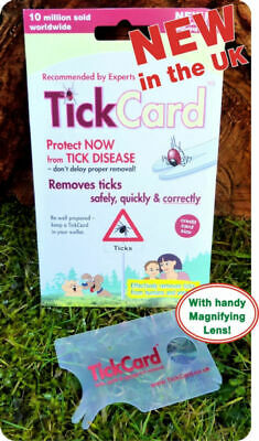 Tick Removal Tool TickCard - Tick Remover Card Safecard - not twister device 3