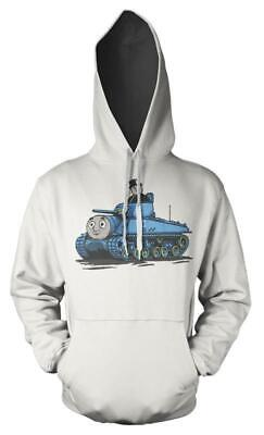 Thomas The Tank Engine Fat Controller Tank Mash up Kids Hoodie 2